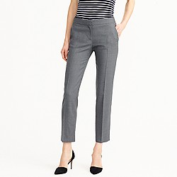 Tall Paley pant in Italian stretch wool