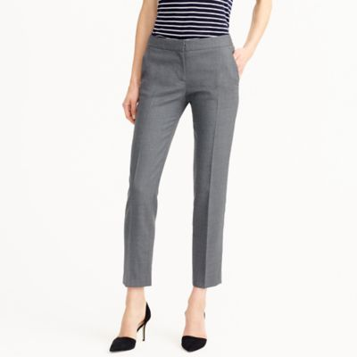 Petite Paley pant in Italian stretch wool