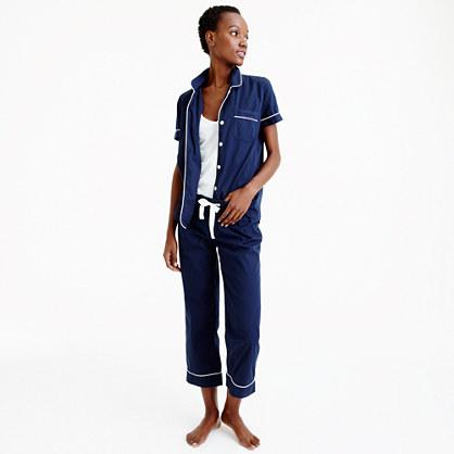 Vintage short-sleeve pajama set