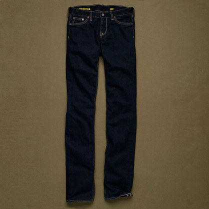 Matchstick jean in deep indigo wash