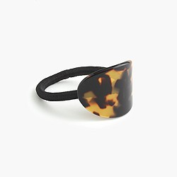French tortoiseshell hair elastic