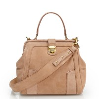Telegram suede mini-satchel