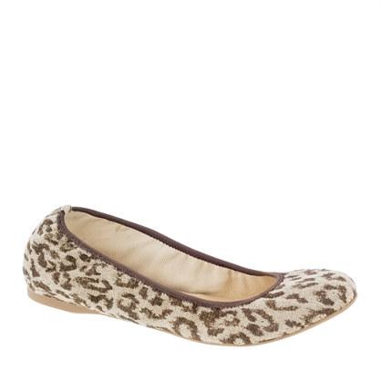 Lula leopard ballet flats