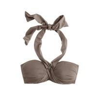 Jersey Lomellina® crisscross halter top