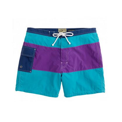 """5"""" Portofino trunks in colorblock"""