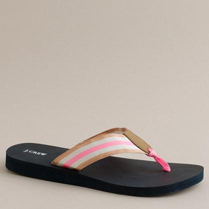 Classic grosgrain flip-flops