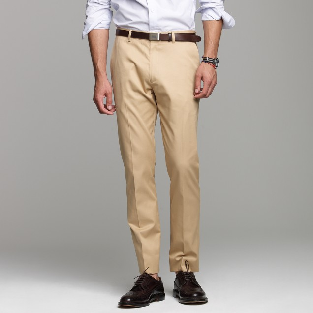 Ludlow suit pant in chino
