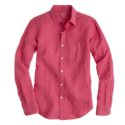 Irish linen shirt