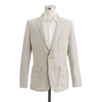 Ludlow sportcoat in washed Irish linen