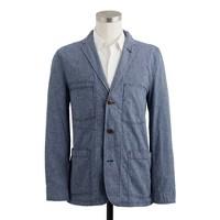Nailhead worker jacket in Ludlow fit