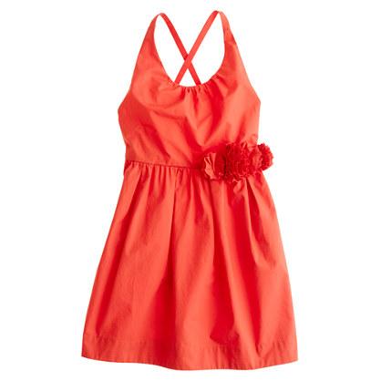 Girls' garland dress