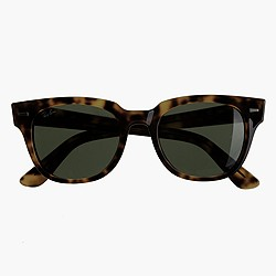 Ray-Ban® Meteor sunglasses with green lenses