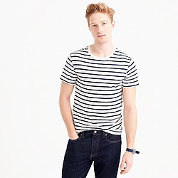 Tall deck-stripe T-shirt