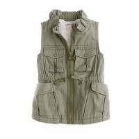 Girls' safari vest