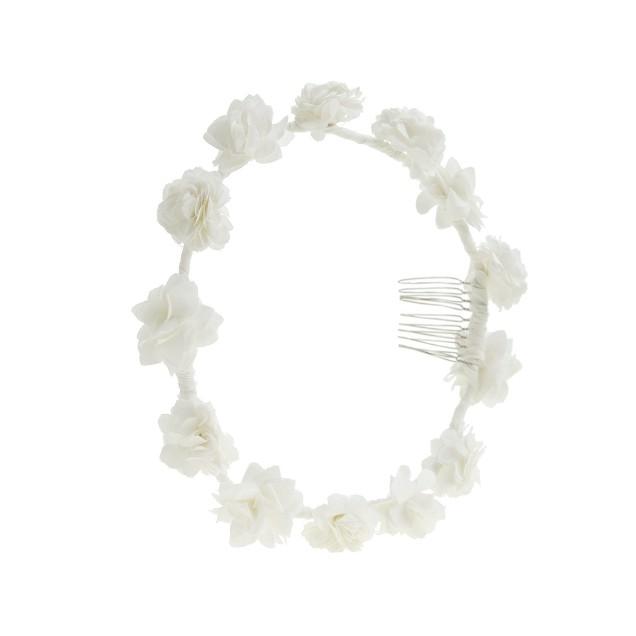 Girls' flower crown