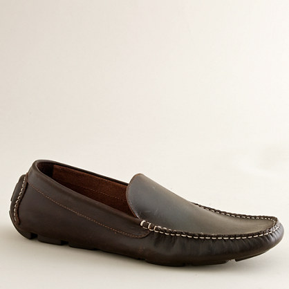 Millbrook leather driving mocs