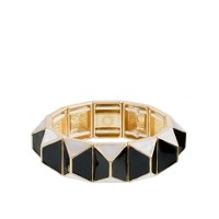Pyramid stretch bracelet