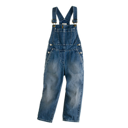 Girls' cowgirl overalls
