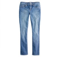 Ankle stretch toothpick jean in sea blue