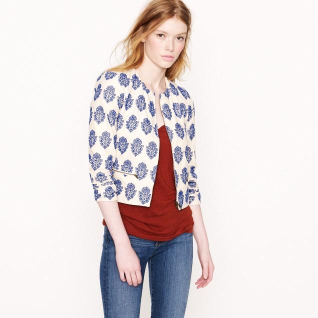 Filigree embroidered jacket