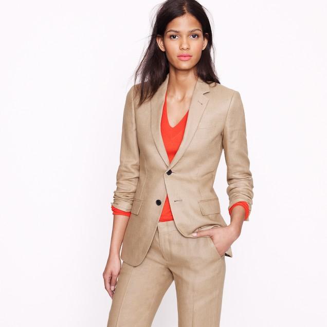 Collection women's Ludlow jacket in Irish linen