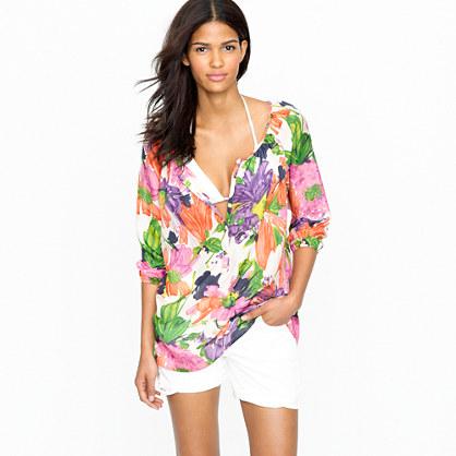 Garden floral tunic