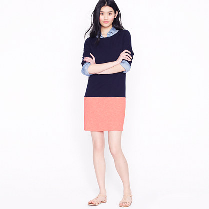 Maritime colorblock dress