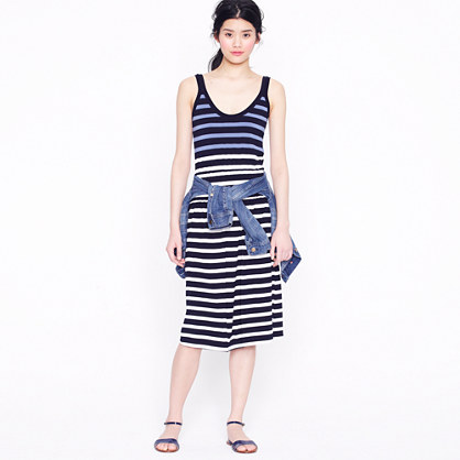 Kari dress in stripe