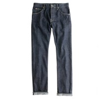 Lee® for J.Crew 101 B regular straight selvedge jean in rinse wash