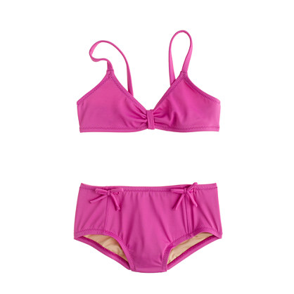 Girls' bikini set in bows