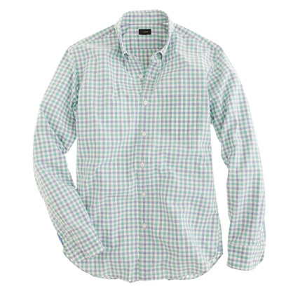 Secret Wash shirt in Anderson check