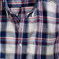 Indian cotton shirt in Kendrick plaid