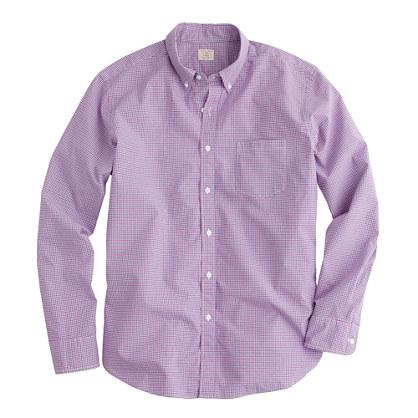 Secret Wash shirt in Cahill tattersall