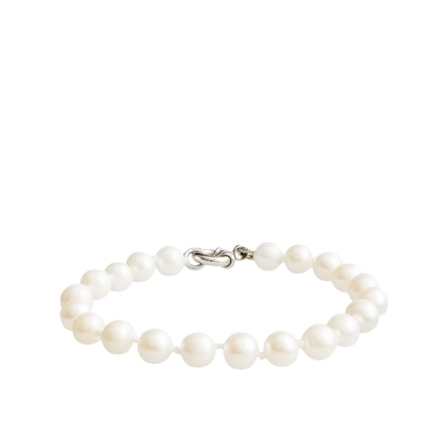 Collection hand-knotted small pearl bracelet