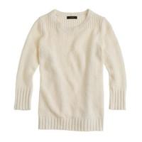Twisted stitch sweater