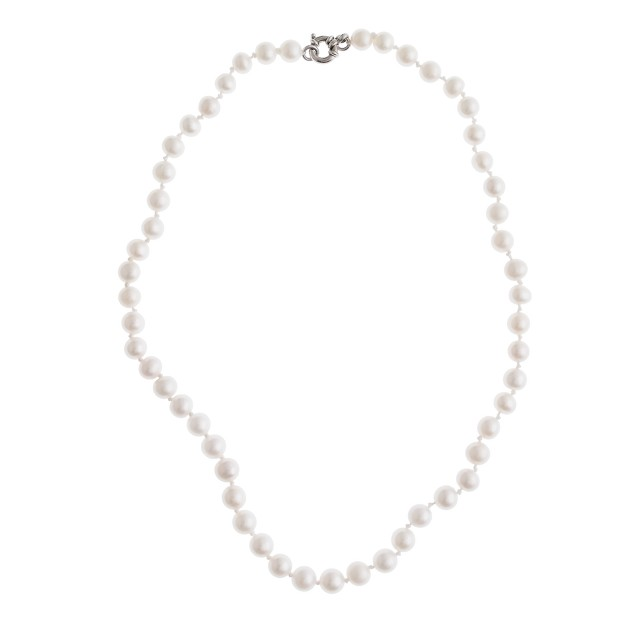 Collection hand-knotted pearl necklace