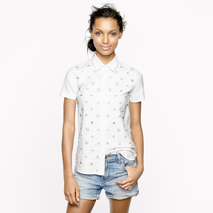 Collection beaded shirt