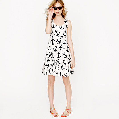 Dizzy anchors dress