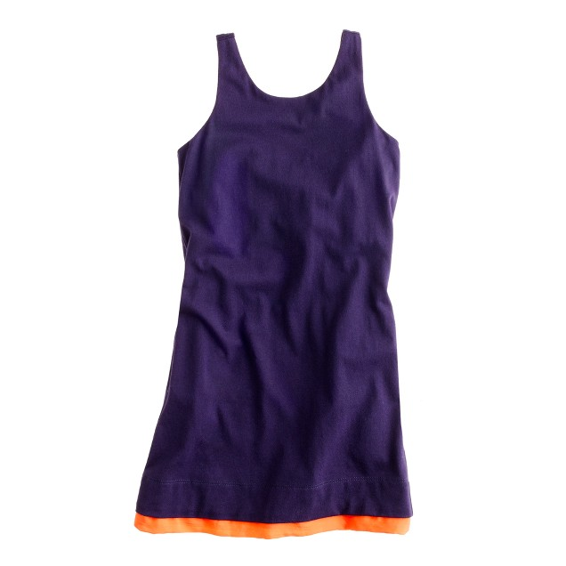 Girls' dreamy cotton dress