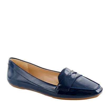 Lexington patent penny loafers
