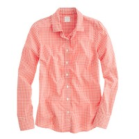 Perfect shirt in small gingham