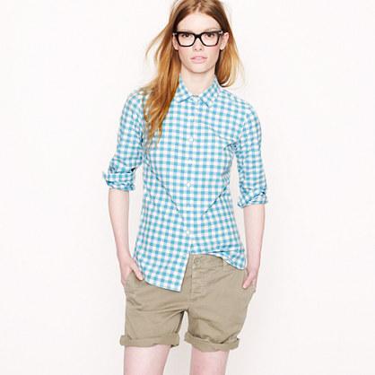 Perfect shirt in medium gingham