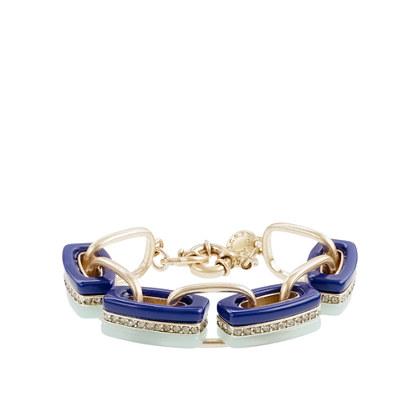Triple-stripe bracelet