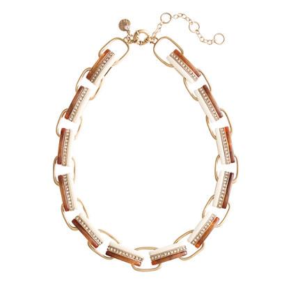 Triple-stripe necklace