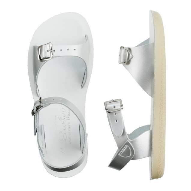 Girls' Salt-Water® metallic surfer sandals
