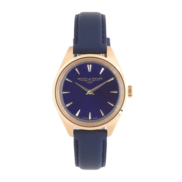 Mougin & Piquard™ for J.Crew Minuit watch in navy