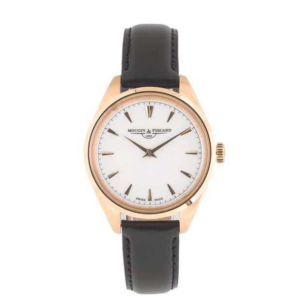 Mougin & Piquard™ for J.Crew Minuit watch in black