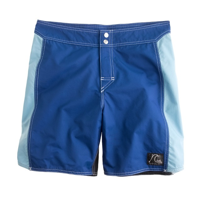 Quiksilver® for J.Crew board short in colorblock