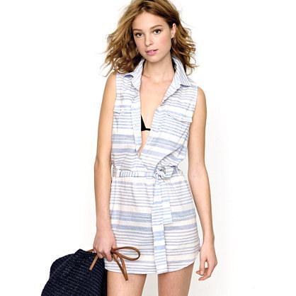 Provence-stripe tunic