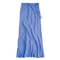 Arrowhead ikat maxiskirt